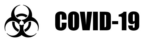 Grafik mit Corona-Schriftzug